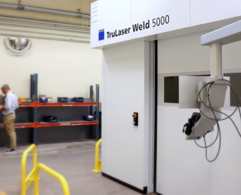 lasersvets 7 495x400 - Investeringar under Q2 2021